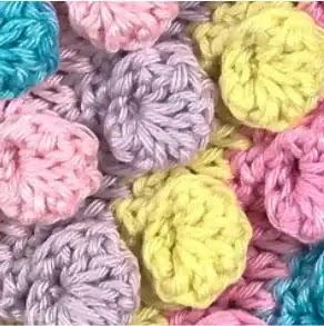 Punto Palomita Invertido a Crochet
