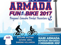 Yuuk Meriahkan Sepeda Ria HUT ARMADA RI, 3 Desember 2017