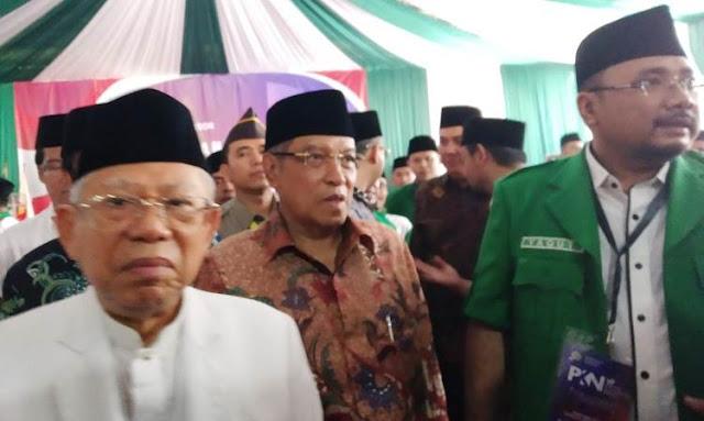 Ma'ruf Amin Minta Maaf ke Relawan yang Gak Kebagian Jatah Menteri