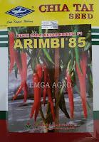 cabe arimbi 85,benih cabe arimbi 85,benih cabe,cabe merah,budidaya cabe,lmga agro