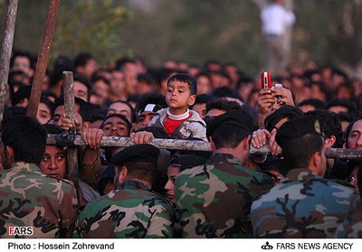 Watching a public execution in Iran (file photo)