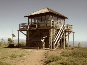 Remembering the Mt Harkness Lookout...