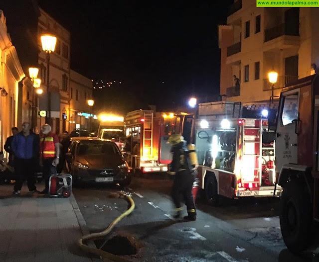 La Arepera de San Pedro sufrió, el pasado viernes, un incendio en su cocina