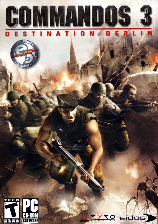 Commandos 3 Destination Berlin PC Full [Español-ISO]