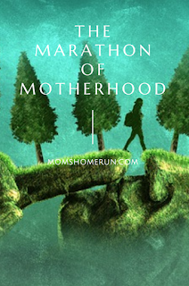 running and motherhood