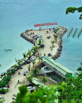 Jelajah Nusantara : Pesona pantai sari ringgung pesawaran lampung