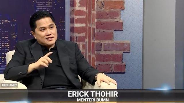 Ngaku Tak Bahagia Jadi Menteri, Erick Thohir Blak-blakan Ungkap Gaji: Alhamdulillah Rp19 Juta