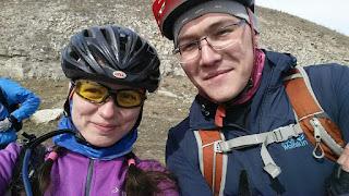 Велосипедисты на реке Белая