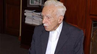 Símbolo de un imperio comercial, a los 105 años murió Luis Ribeiro Luis Ribeiro, el responsable de una de las empresas de artículos para el hogar más importantes del país. FOTO GENTILEZA EL DIARIO DE LA REPUBLICA