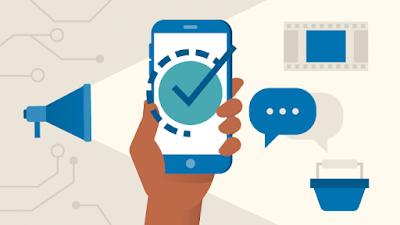 Image Mobile Marketing mang đến thông tin hữu ích cho khách hàng khi chờ ứng dụng tải.