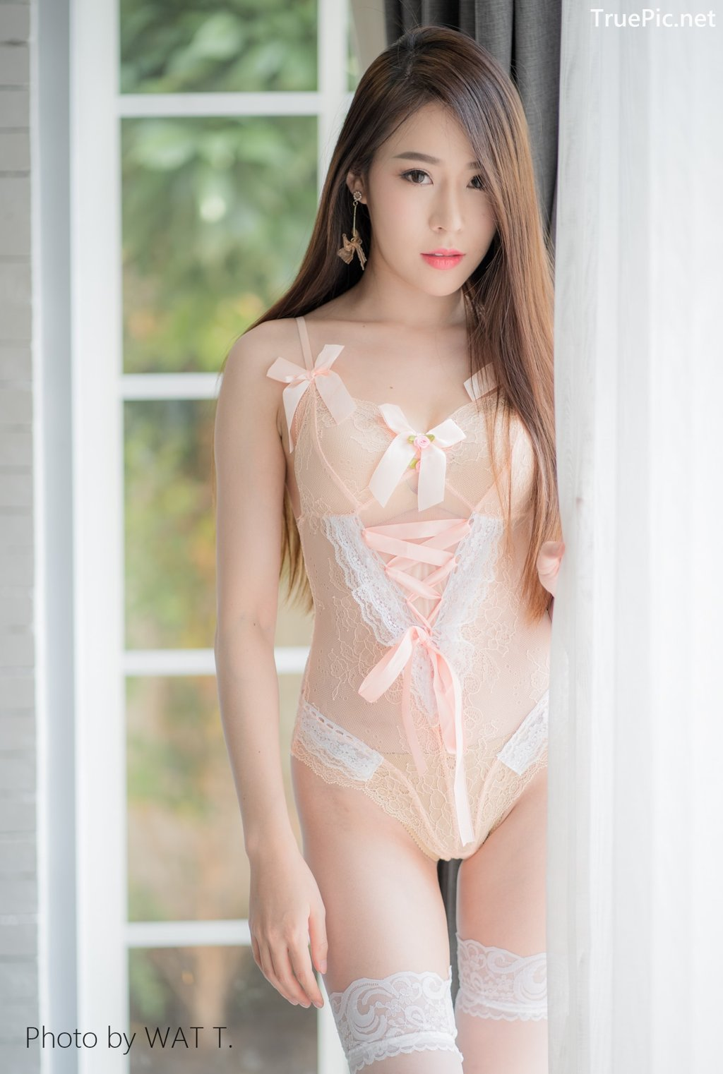 Image Thailand Model - Thipsuda Jitaree - Pink Sky Lingerie - TruePic.net - Picture-6