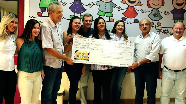 Através do ingresso Solidário, Bahia Farm Show doa parte da bilheteria ao Hospital do Oeste