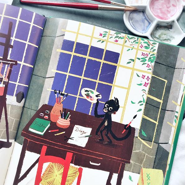 Album jeunesse : Des pinceaux pour Frida