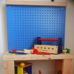 DIY Kids Workbench