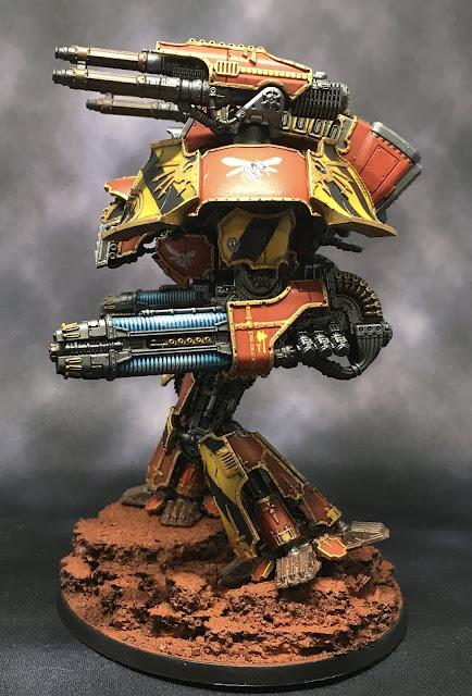 Adeptus Titanicus Legio Ignatum Warlord Titan