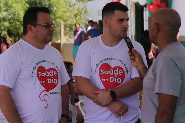 Manoel Portela Neto participa de inauguração de UBS e se diz preparado para ingressar na política