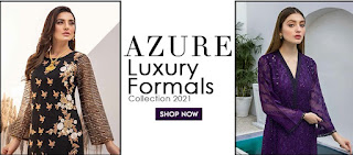 Azure launches Luxury Formals Unstitched Shirts Collection 2021