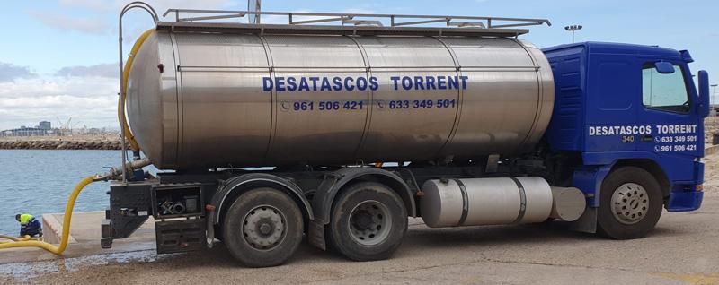 desatascos camiones cuba Ribarroja de Turia