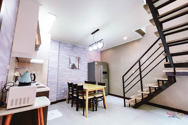Kitchen and Dining of ON Villas, The Pad
