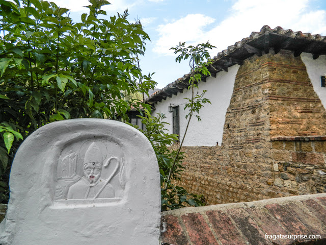 Ponte de San Augustín, Villa de Leyva, Colômbia