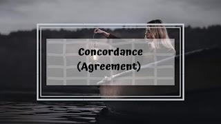 Concordance (Agreement)