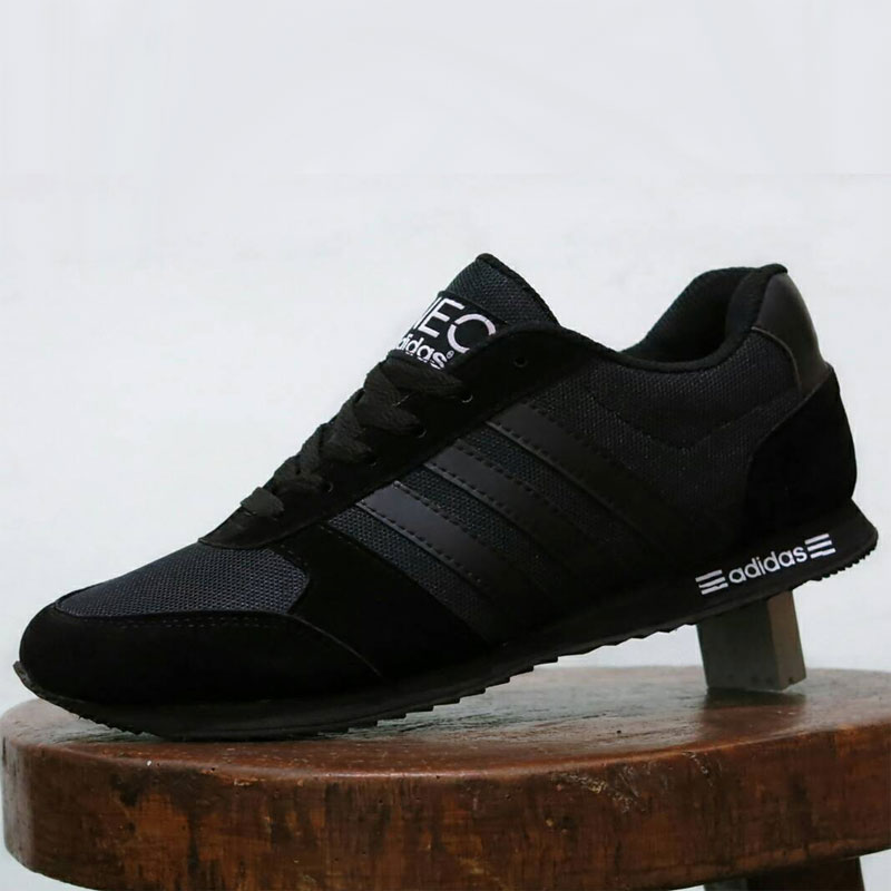 Neo Institusionalisme Adalah: Sepatu Adidas Neo Full Black [ANFB-001]