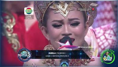 JAMILA SUBANG Juara 1 Bintang Pantura 5 Indosiar