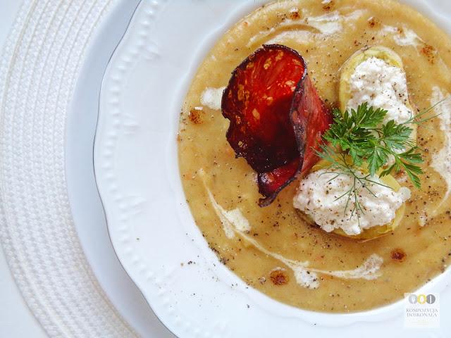 najlepszy przepis na zupę krem z ziemniaków
