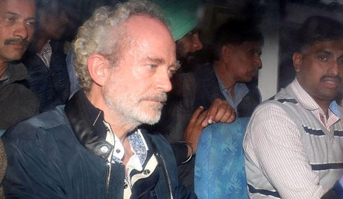 Christian Michael's Pic who was Extradited to India in AugustaWestland Scam