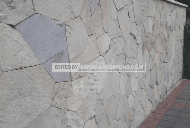 batu alam untuk pagar acak