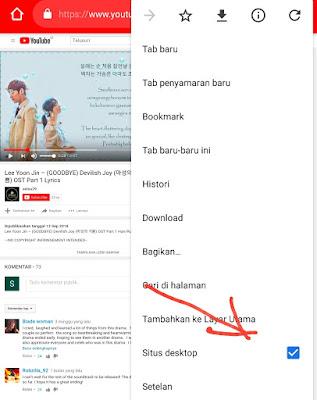 Cara Putar Video You Tube Latar Belakang Di Android Work 100%