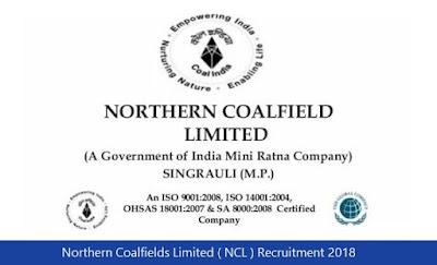 Northern Coalfields Limited ( NCL ) Recruitment 2018