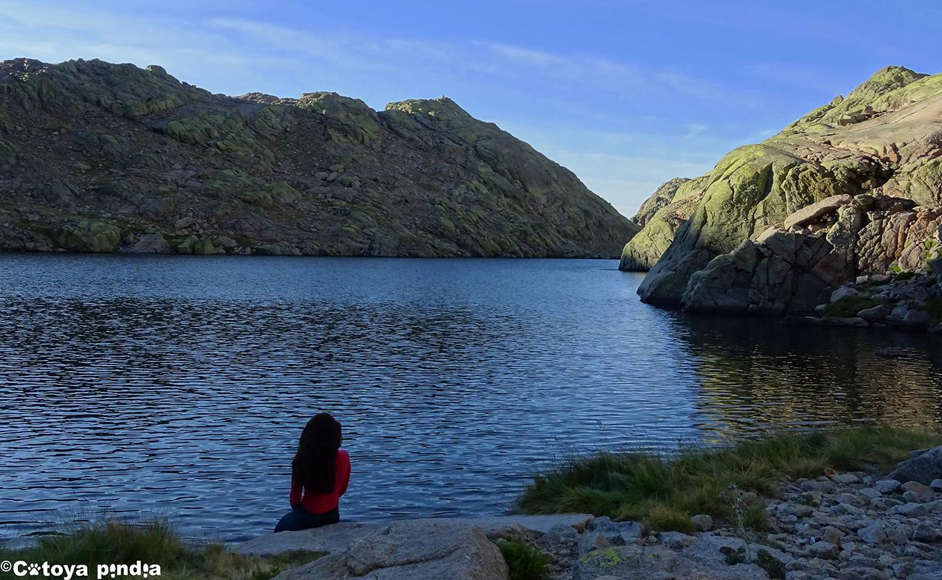 Laguna Cimera, la más alta de las cinco Lagunas de la Sierra de Gredos.