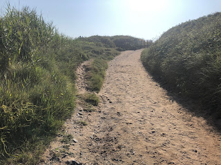 Croyde beach path