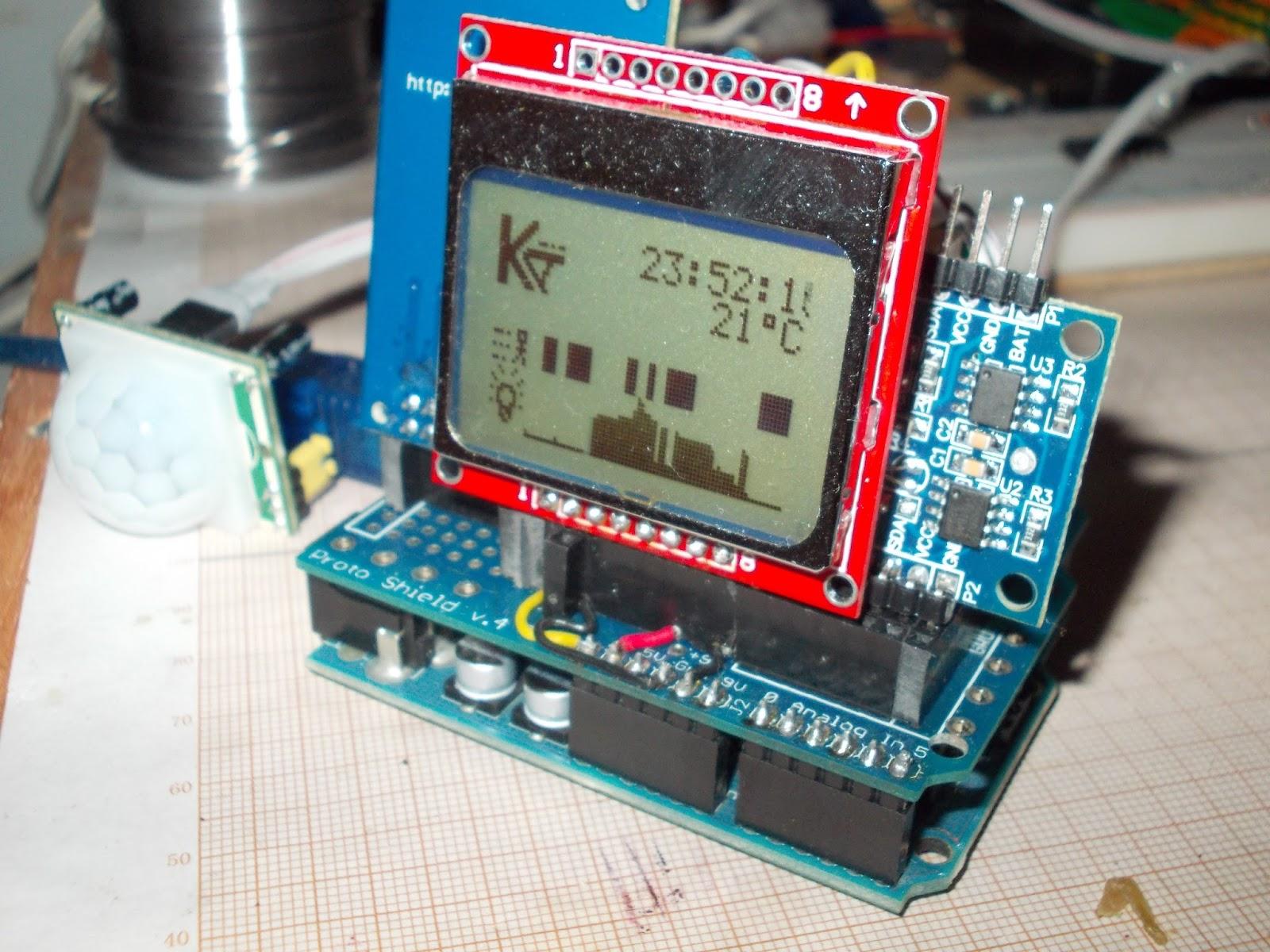 Kostis lab arduino data logger