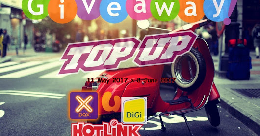"""GIVEAWAY TOP UP BY Blogbabyshambles"""