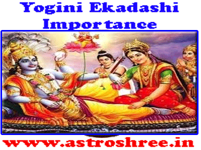 importance of yogini ekadashi as per astrologe