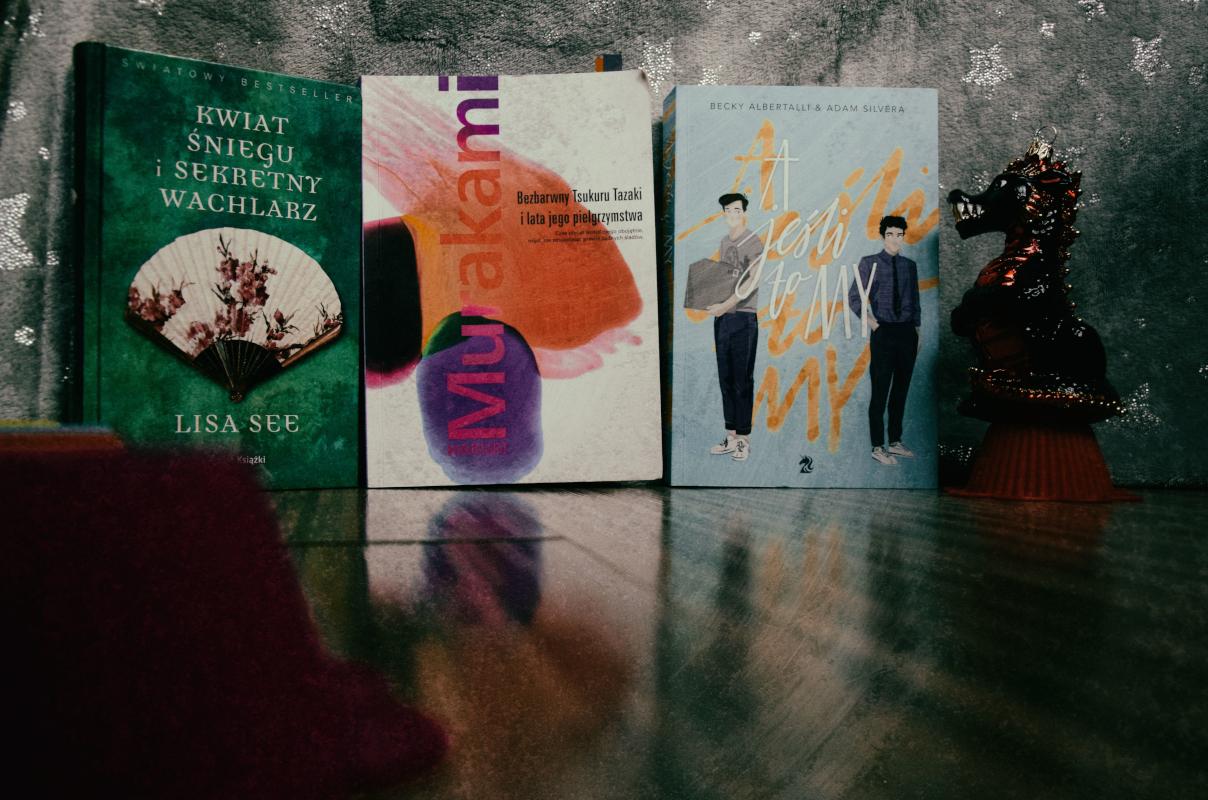 Trochę o trzech takich (książkach)