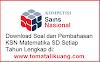 Soal & Pembahasan KSN / OSN Matematika SD Tahun 2020 PDF (KSN-K KSN-P KSN Nasional)