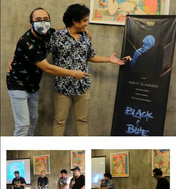 "Launching Album Yang Epic dari Abhy Summer ""Black & Blue"""