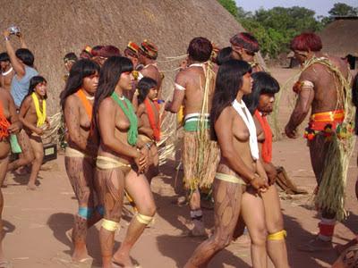 Suku Bugil Di Pedalaman Amazon