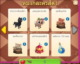 Royal Story Clow Hat Game