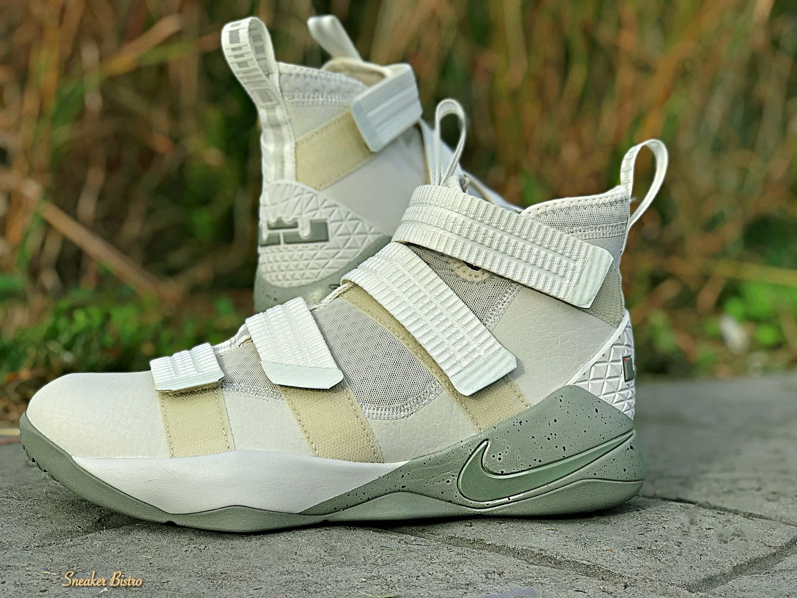 c3f5b66f2bfe Nike LeBron Soldier 11 SFG Light Bone Dark Stucco-Black. Release Info