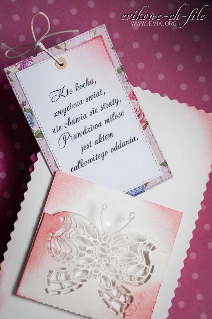 kto kocha, zwycięża świat, motyl z papieru