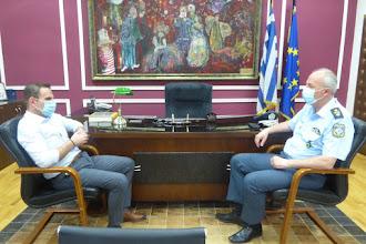 Επίσκεψη Περιφερειακού Αστυνομικού Διευθυντή στον Δήμο Καστοριάς