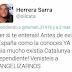 El nivel aleccionador del independentismo, el nivel de gente como @oilcata #VistoEnRedesSociales