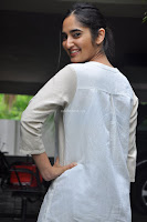 Radhika Cute Young New Actress in White Long Transparent Kurta ~  Exclusive Celebrities Galleries 011.JPG