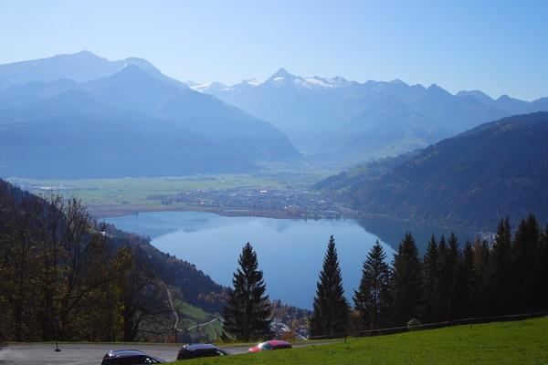 autriche salzbugerland zell am see randonnée mitterberghof vue