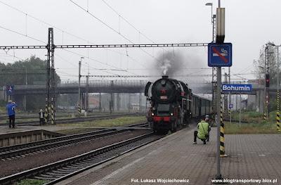 "Parowóz 464.202 ""rosnička"", stacja Bohumin"
