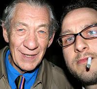 Ian McKellen & Kris Griffiths